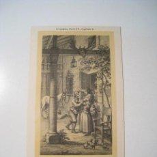 Postales: DON QUIJOTE: PARTE 2: CAPITULO 2 - POSTAL ILUSTRADA. Lote 18893314