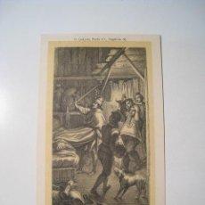 Postales: DON QUIJOTE: PARTE 1: CAPITULO 35 - POSTAL ILUSTRADA. Lote 18893328
