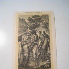 Postales: DON QUIJOTE: PARTE 1: CAPITULO 29 - POSTAL ILUSTRADA. Lote 18893339