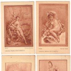 Postales: 2243 -COLECCIÓN 12 GRABADOS(BONNET,JUBIER)POSTALES PULICITARIAS LABORATORIOS CH. COUTURIEUX 1924.... Lote 27034739
