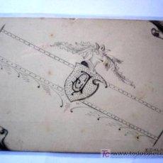 Postales: POSTAL CON DIBUJO ORIGINAL. FIRMADA E. CALAFELL. . Lote 19956271