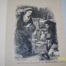 Postales: DOBLE Y USADA-CON GRABADO ( IMPRESO) DE : DETALLE DE LA ADORACIÓN- 1959- - 16.5 X 12.5 CM CERRADA. Lote 20044093