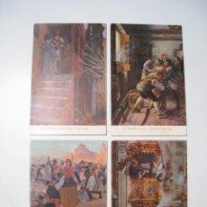 Postales: ZARAGOZA: SITIO DE 1809 - LOTE 4 POSTALES ILUSTRADAS. Lote 21025371