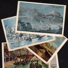 Postales: 5 POSTALES SERIE MARES Y PUERTOS DE ESPAÑA EDITADAS POR CIES D'ASSURANCES GENERALES. Lote 21268535