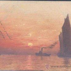 Postales: POSTAL PINTADA A MANO.- AÑO 1906.. Lote 22715642