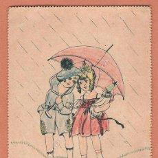 Postales: POSTAL DE NPG MUY ANTIGUA DIBUJO DE E. KURT. COLOREADA.. Lote 26536009