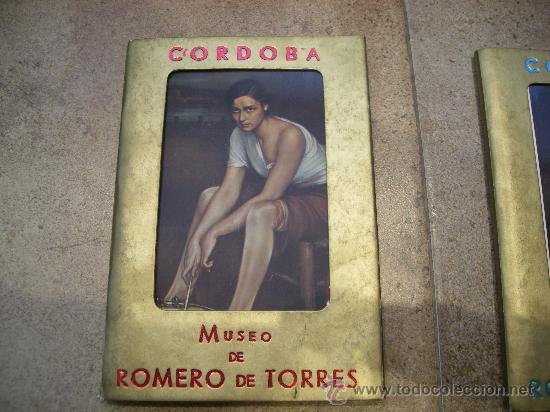 Postales: 2 ESPECTACULARES COLECCIONES DE POSTALES DEL MUSEO ROMERO DE TORRES CORDOBA AÑOS 70-80 - Foto 2 - 26425615