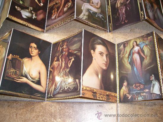 Postales: 2 ESPECTACULARES COLECCIONES DE POSTALES DEL MUSEO ROMERO DE TORRES CORDOBA AÑOS 70-80 - Foto 9 - 26425615