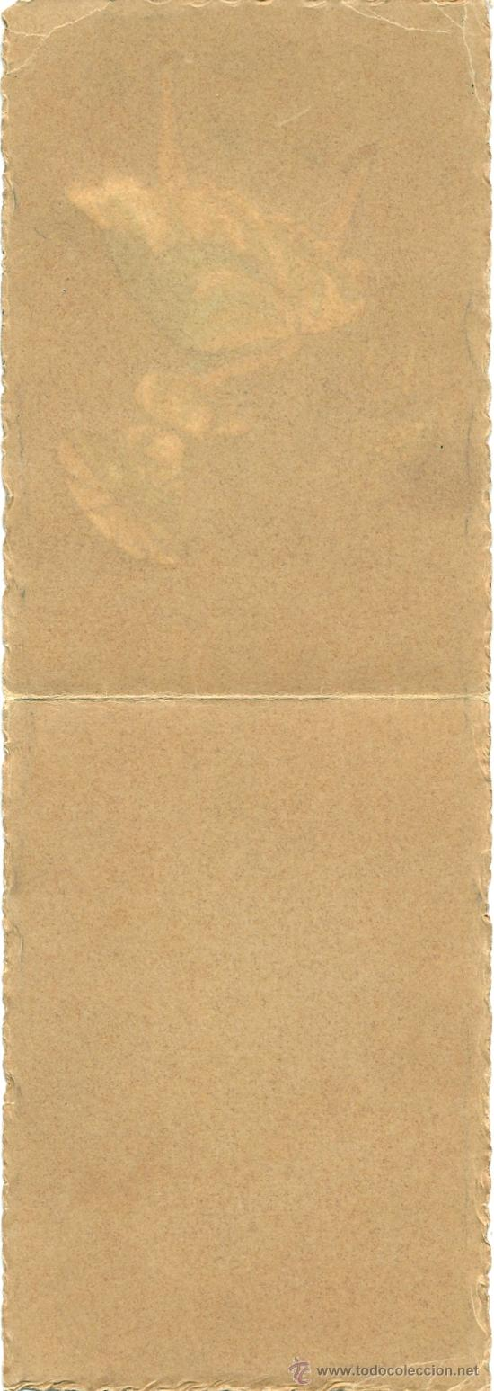 Postales: 8753b - PRECIOSA POSTAL PINTADA A MANO - CERRADA MIDE 12,5 X 8,5CM - Foto 2 - 27678448