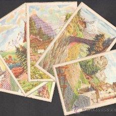 Postales: LOTE DE 5 POSTALES DE LA SERIE SIRENITA 1073 DE EDITORIAL ARTIGAS. Lote 28190696