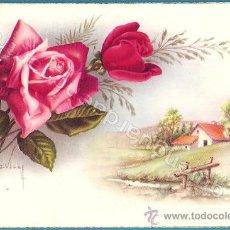 Postales: POSTAL DE CYZ AÑOS 50 SERIE 575/A Nº 4 DIBUJO DE CARLES VIVES CON DOS MOTIVOS.. Lote 28293663