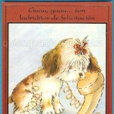 Postales: POSTAL DE CYZ DIBUJO DE CONSTANZA, SERIE ORO 8513-B NUEVA, CON BRILLOS DORADOS.. Lote 28345149