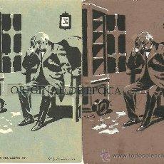 Postales: (PS-23774)POSTAL Y DIBUJO ORIGINAL DE ILUSTRADOR V.BUIL SERIE DE BARON A COLILLERO. Lote 28426355