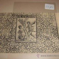 Postales: POSTAL ANTIGUA EN BLANCO Y NEGRO GRABADO DE RUINES ROMAINES DE TIMGAD, FRANCIA.. Lote 29334090