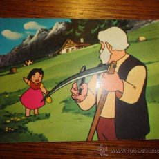 Postales: POSTAL HEIDI Y EL VIEJO DE LOS ALPES (NUM.1,TARJE- FHER, 1975). Lote 29797384