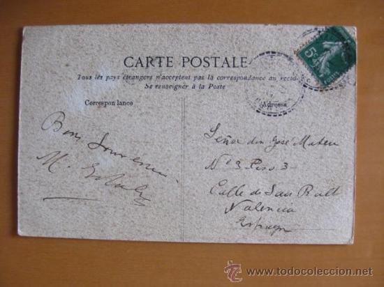 Postales: BONITA POSTAL DE MUJER A PINTADA A MANO. FIRMADA- .PRINCIPIOS 1900 - Foto 3 - 30284405