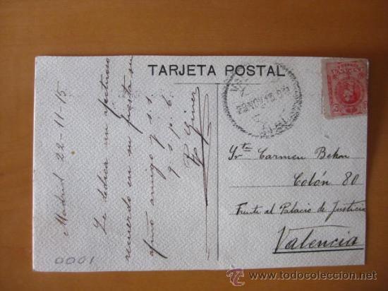 Postales: BONITA POSTAL DE MUJER PINTADA A MANO. FIRMADA POR GINER.1915 - Foto 2 - 30284266