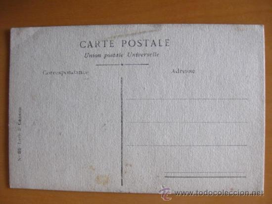 Postales: BONITA POSTAL DE MUJER PINTADA A MANO. PRINCIPIOS 1900 - Foto 2 - 30283988