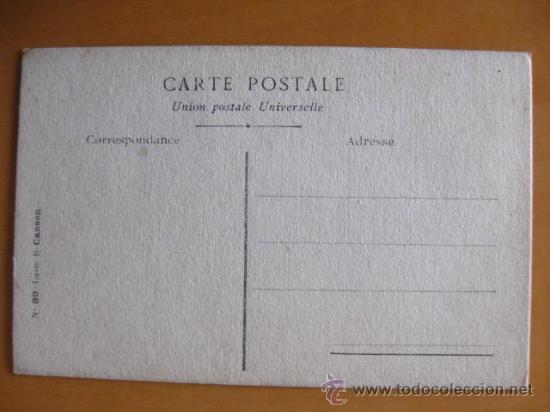 Postales: BONITA POSTAL DE MUJER PINTADA A MANO. PRINCIPIOS 1900 - Foto 2 - 30283978