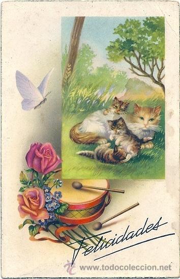 1185 -EDICIONES CYZ SERIE 532.B - ILUSTRADA POR VIVES DATA 1950 (Postales - Postales Temáticas - Dibujos originales y Grabados)