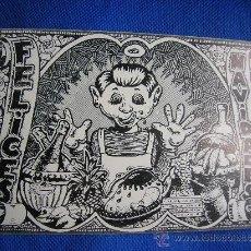 Postales: FELIZ NAVIDAD -FARRY 1972 -DIBUJANTE DEL RROLLO ENMASCARADO. Lote 186043636