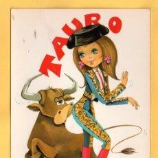 Postales: HOROSCOPO DE TAURO EDICION C.Y.Z. DIBUJO STON SIN CIRCULAR . Lote 96024682