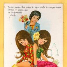 Postales: HOROSCOPO DE GEMINIS EDICION C.Y.Z. DIBUJO ARIAS SIN CIRCULAR . Lote 32452664