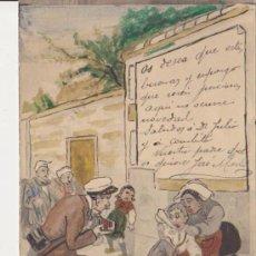Postales: TARJETA POSTAL ORIGINAL 1904. Lote 32492200