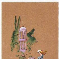 Postcards - postal pintada a mano -12X8,50 - 33527970