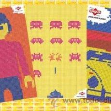 Postales: LOTE COLECCION DE 3 POSTALES SUGUS, PLAYMOBIL , ESCARABAJO,SPACE INVADERS.. Lote 52757743