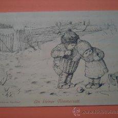 Postales: POSTAL DE HERMANN KAULBACH - EIN KLEINER NIMMERSATT ( A NIMMERSATT PEQUEÑO ) - FECHADA EN 1913. Lote 34257872