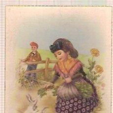Postales: ANTIGUA POSTAL CYZ 533 ESCRITA 1950. Lote 34488927