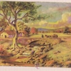 Postales: ANTIGUA POSTAL ESCRITA 1954 PAISAJES. Lote 34489050