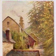 Postales: TUCK'S POST CARD DEVONSHIRE COTTAGES ODEITE. Lote 34490041