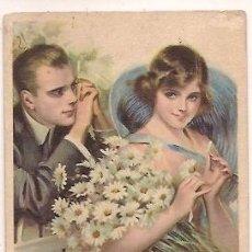 Postales: POST CARD DAISIES P CARL IHRISTY ESCRITA. Lote 34959982