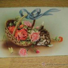 Postales: POSTAL DE FELICITACION - SIN CIRCULAR - EDICIONES C.Y. Z. Lote 35064565