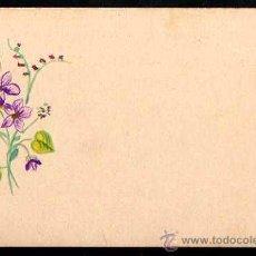 Postales: FLORES PINTADAS . SIN CIRCULAR.. Lote 36016595