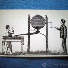 Postales: POSTAL LOTERIA SERIE B Nº 6 BOMBO MANUAL DE PREMIOS GRABADO 1893 NO CIRCULADA. Lote 36388730