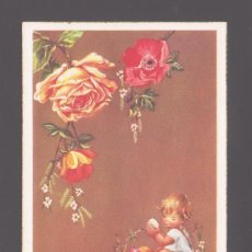 Postales: FLORES (VI) - DISEÑO ORIGINAL - POSTAL 519/B EDITADA POR CYZ. Lote 36544494