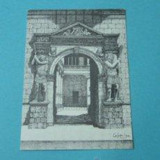 Postales: FACHADA DEL PALACIO DE LOS LUNA. ZARAGORA. Lote 37157906