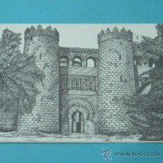 Postales: PALACIO-CASTILLO DE LA ALJAFERÍA. ZARAGORA. Lote 37157969