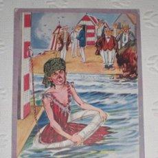 Postcards - Antigua postal con dibujo humorístico ingles. 1915. - 37119491