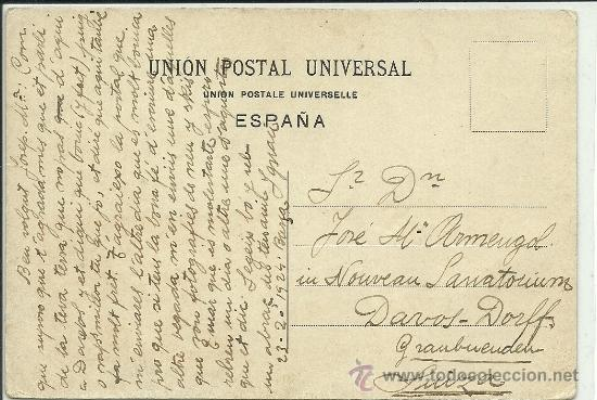 Postales: (PS-34537)POSTAL ESCRITA Y DIBUJO ORIGINAL DE IGNASI BAIXAS(1904-1956) - Foto 2 - 37419487