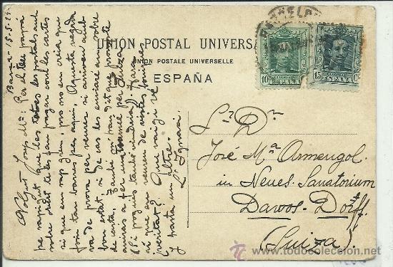 Postales: (PS-34536)POSTAL ESCRITA Y DIBUJO ORIGINAL DE IGNASI BAIXAS(1904-1956) - Foto 2 - 37419499