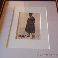Postales: TARJETA POSTAL PINTADA A MANO. C.1900.. Lote 37541332