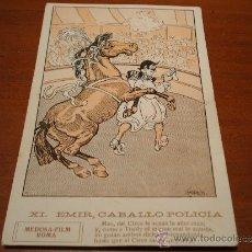 Postales: POSTAL ANTIGUIA DIBUJO LLAVERIAS COLECCION EMIR, CABALLO POLICIA. Lote 38638785