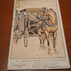 Postales: POSTAL ANTIGUIA DIBUJO LLAVERIAS COLECCION EMIR, CABALLO POLICIA. Lote 38638798