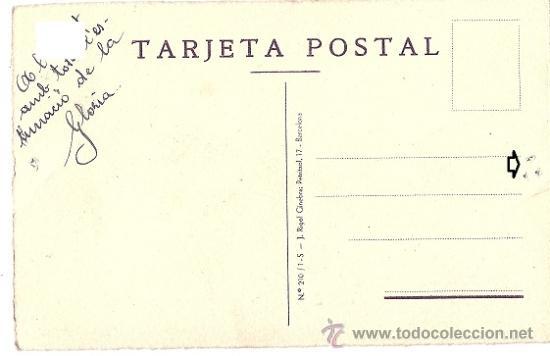 Postales: 4823 - ESPECTACULAR ILUSTRACIÓN DE GLORIA ROMEU - ORIGINAL A CARBONCILLO - DATA 26-9-39 (G.C.E) - Foto 2 - 39243159