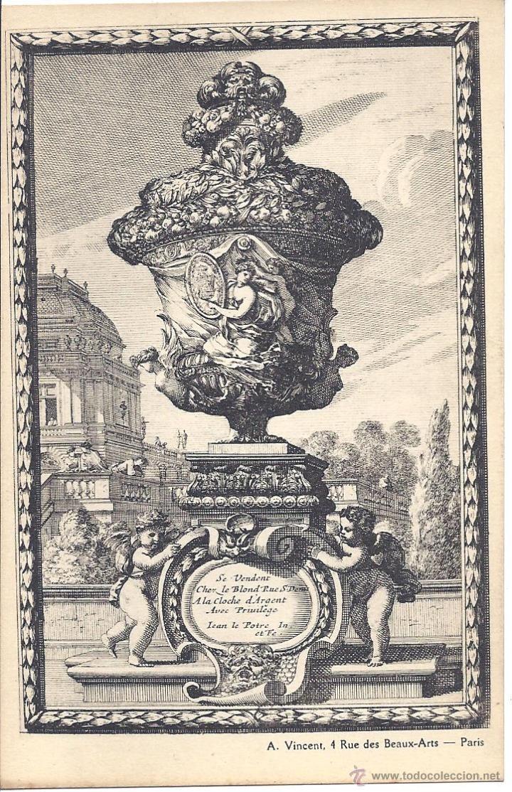 COLECCIÓN DE 493 POSTALES SOBRE ARQUITECTURA Y ELEMENTOS DECORATIVOS ANTIGUOS. FINALES S. XIX (Postales - Postales Temáticas - Dibujos originales y Grabados)