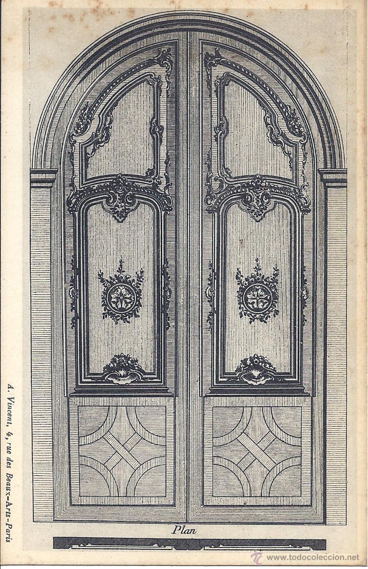 Postales: COLECCIÓN DE 493 POSTALES SOBRE ARQUITECTURA Y ELEMENTOS DECORATIVOS ANTIGUOS. FINALES S. XIX - Foto 6 - 195724651
